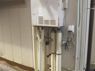 【施工例】ガスふろ給湯器(壁掛け⇒壁掛け)