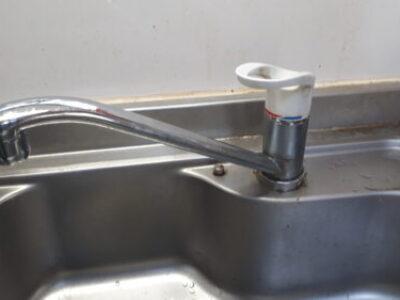 【施工例】台所水栓のお取替え