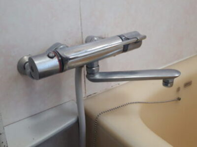 【施工例】浴室用シャワー水栓のお取替え