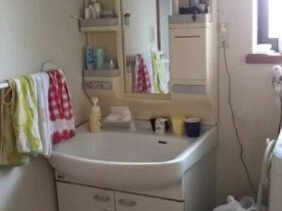 【施工例】洗面化粧台取替工事